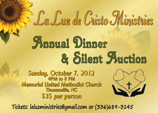 2012 Annual Dinner and Silent Auction